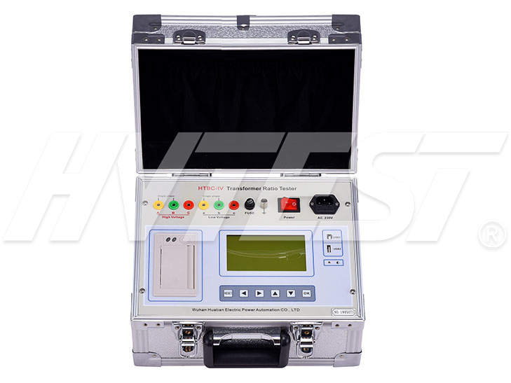 HTBC-IV Transformer Turns Ratio Tester (TTR)