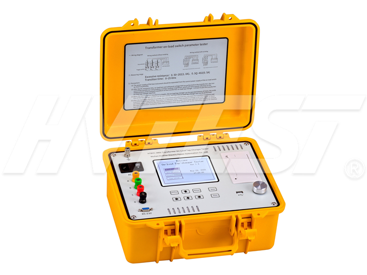 HTBYC-3000 Transformer On-Load Tap-Changer Tester