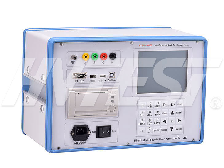 HTBYC-4000 Transformer On-Load Tap-Changer Tester