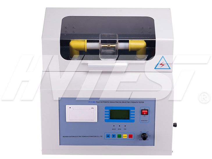 HTJY-80A Transformer Oil BDV Tester (Single Cup)