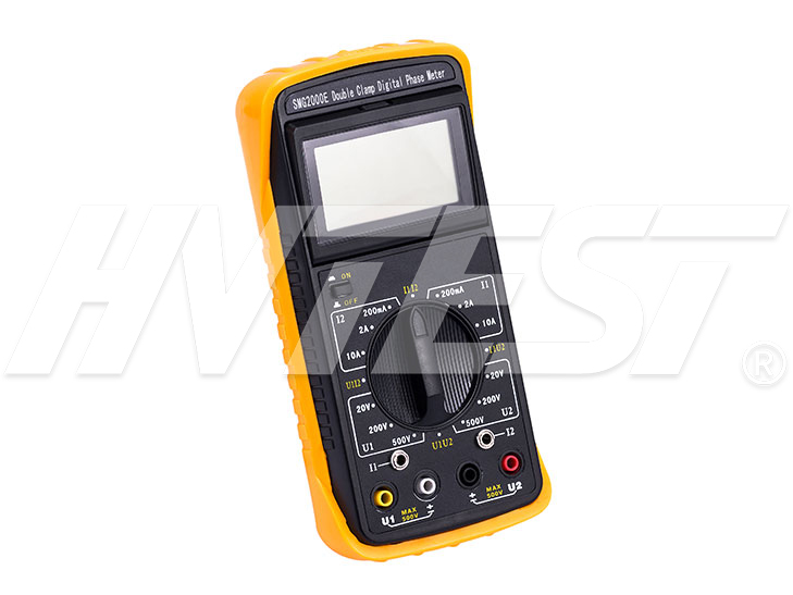 SMG2000E Double Clamps Digital Phase Meter