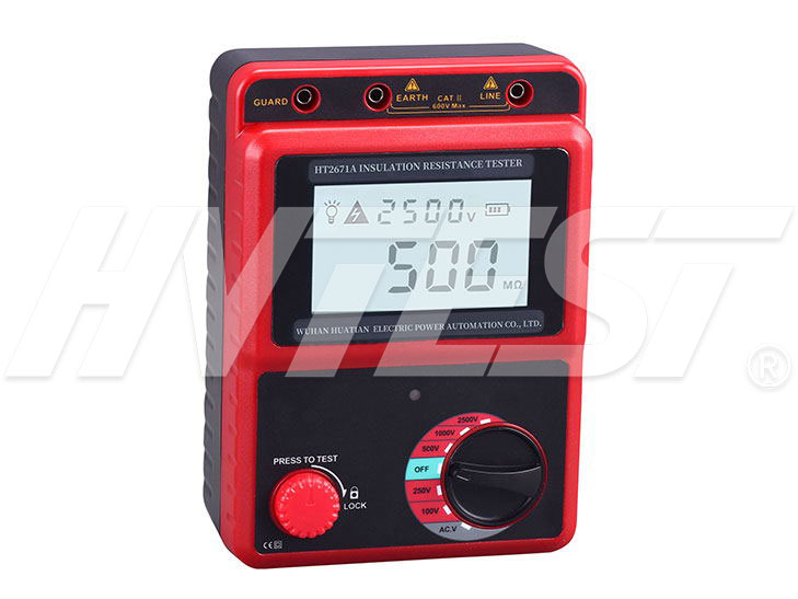 HT2671A Insulation Resistance Tester
