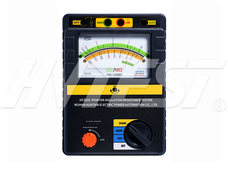 HT2550 Pointer Insulation Resistance Tester